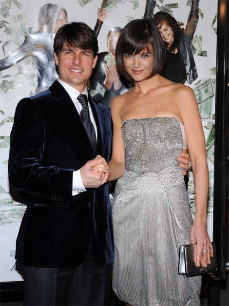Tom Cruise's Grip On Katie: Courtly? Or Controlling?