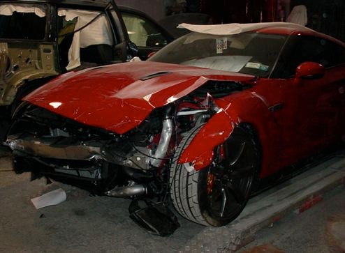 Nissan GT-R Crashed In The USA