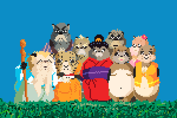Miyazaki Films Would Be Just As Pretty With Pixel Art