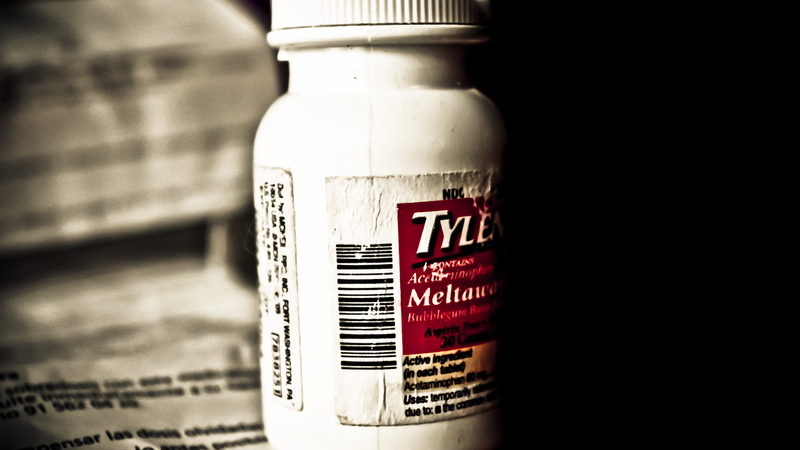 Tylenol Could Help You Stop Worrying About Dying
