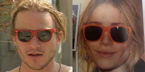 Heath Ledger and Mary-Kate Olsen: Separated at Birth