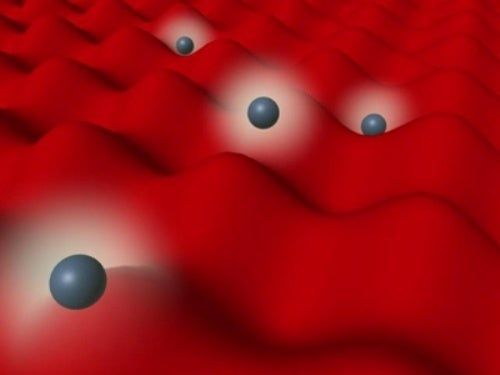 The world's smallest mirror reflects and traps individual atoms