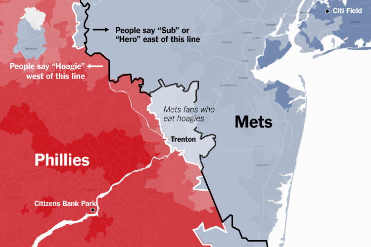 Which MLB Teams Does Your Town Root For? NYT Interactive Has Answers