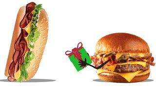 Smackdown! Burger King's Yumbo Vs. The Wendy's Bacon Portabella Burger