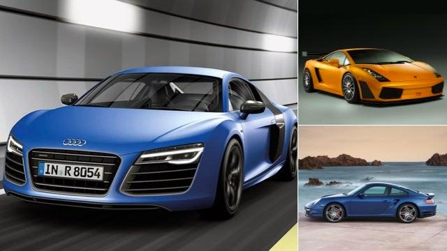 Daily Drive, Track, Burn: Audi R8, Porsche 911 Turbo, Lamborghini Gallardo