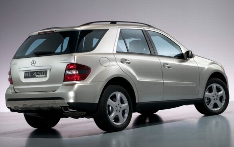 Mercedes M-Class Hybrid Coming to Frankfurt