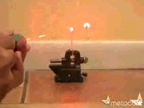 Make Your Own Laser Flashlight