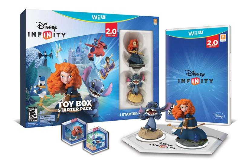 Stitch And Merida Star In The Other Way To Buy Disney Infinity 2.0