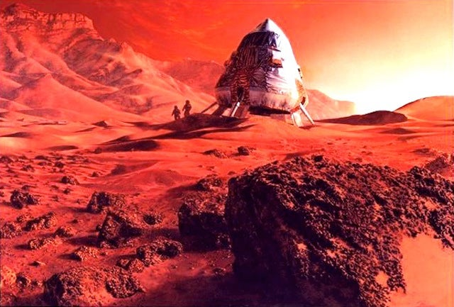 Could We Drink The Water On Mars?