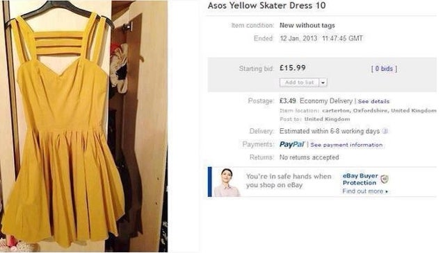 Woman's eBay Auction Goes Viral After She Accidentally Includes Naked Photo of Herself in Post (NSFW)