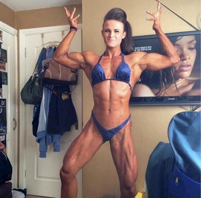 Teen Bodybuilder Bullied Over Her 'Freakishly' Buff Bod