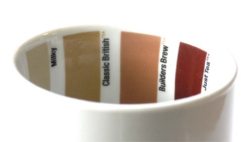 Pantone Mug Helps you Make the Perfect Brew