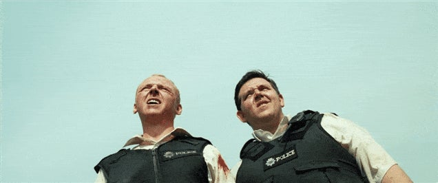 Hot Fuzz Is A God Damned Masterpiece