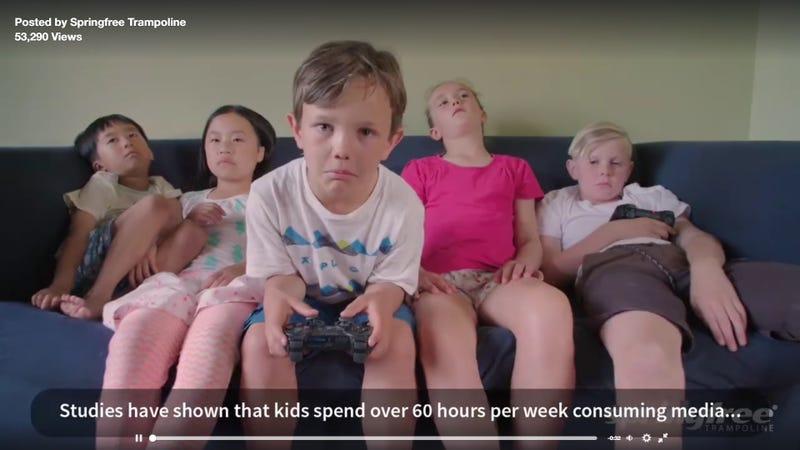 What Game Could Possibly Make A Kid This Sad?