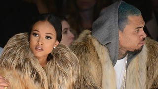 Karrueche Tran Is Pretty Excited to Be Done With New Daddy Chris Brown