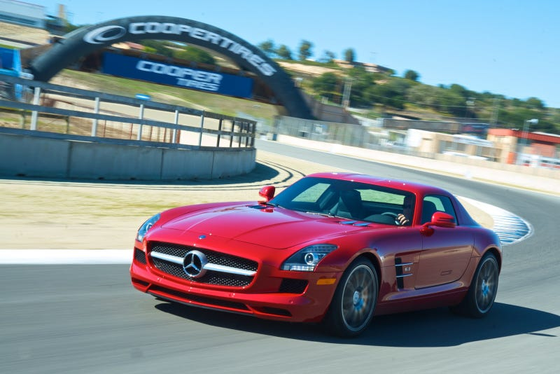 2011 Mercedes SLS AMG: First Drive