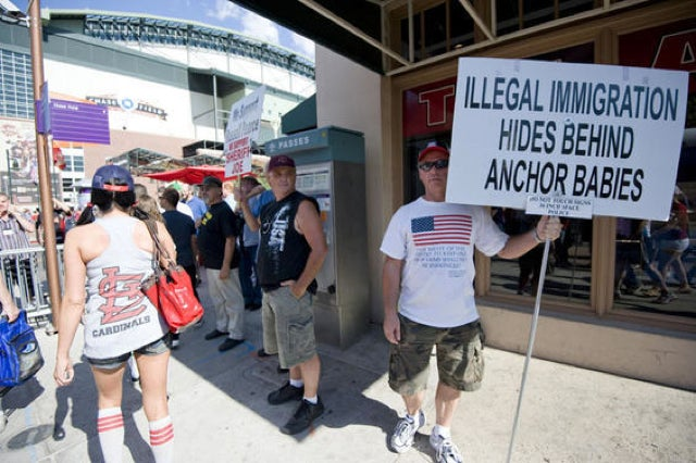 Here Are Some Pictures From The Immigration Protests That Really Didn't Intrude Upon The All Star Game