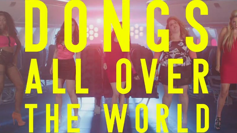 ​SNL's International Nasty Girls Sight-See 'Dongs All Over The World'