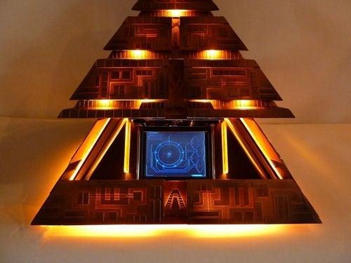 Motorized Stargate Pyramid Case Mod Makes My Sci-Fi Senses Giddy