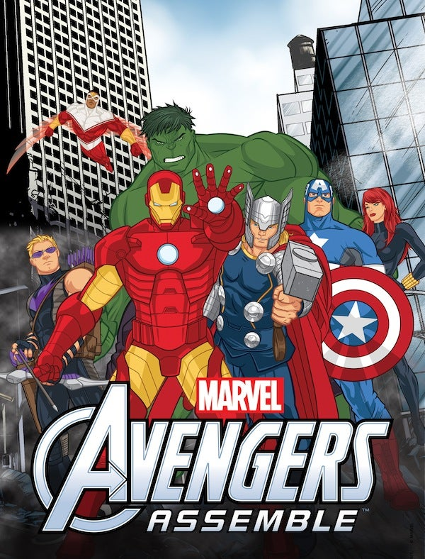 First look at Disney's new Avengers Assemble cartoon