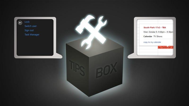 Shutting Down Windows, TV Reminders, and Quicker Emoji