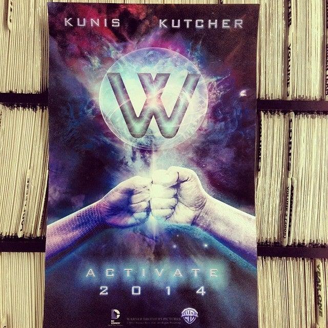 Wonder Twins, starring Mila Kunis and Ashton Kutcher?