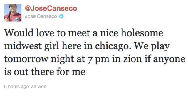 Jose Canseco Knows What He Wants And Is Not Afraid To Ask The World For It