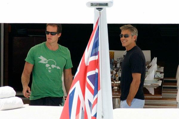 George Clooney, Rande Gerber Live La Dolce Vita