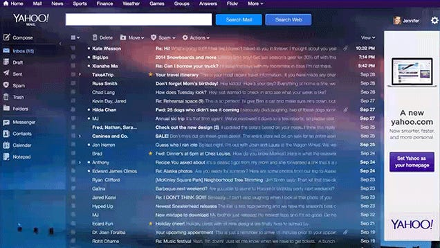 The New Yahoo Mail Could Not Look More Like Gmail