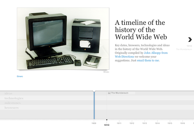 Learn the Complete History of the Web with This Timeline