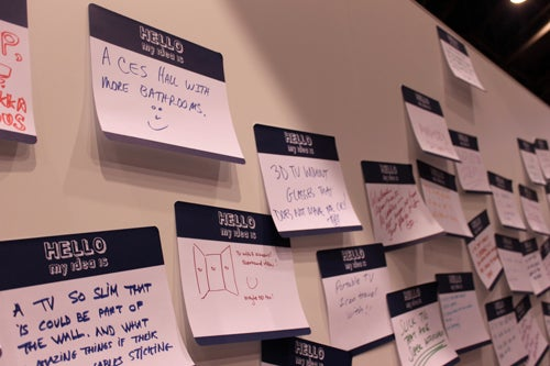 "CESpool: Haier Asks ""Share Your Ideas,"" Wall-Writers Display (Lack of) Intelligence"