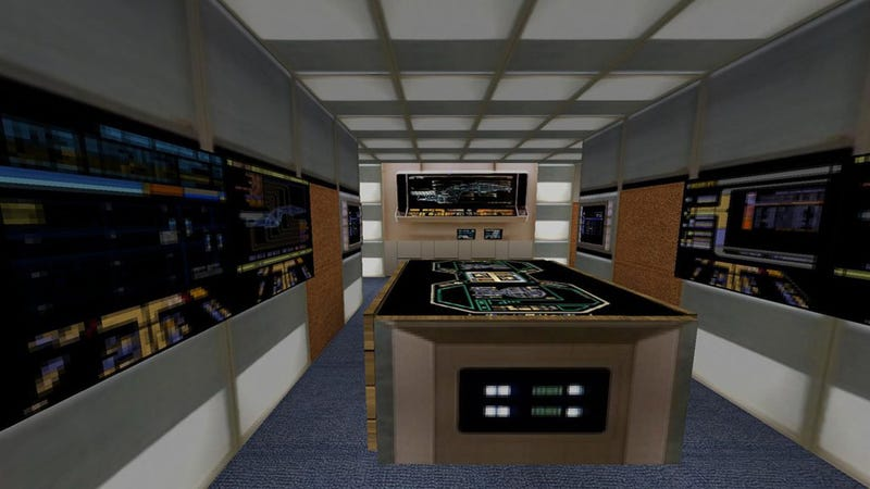 Everything on The USS Enterprise Can Be Explored In This Stunning Minecraft Replica