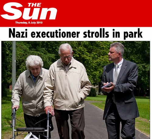 Ex-Audi Employee A Nazi War Criminal