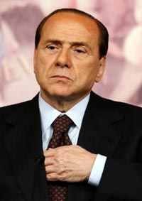 Silvio's Job Is Safe As Long As Italy Remains A 1960s Playboy Club