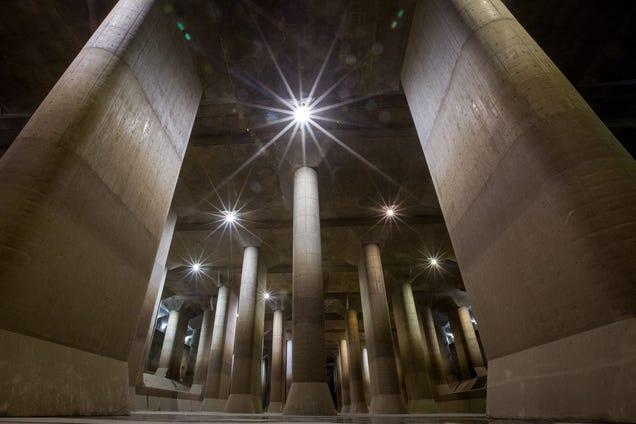 Este es el tanque de agua subterráneo más grande del mundo