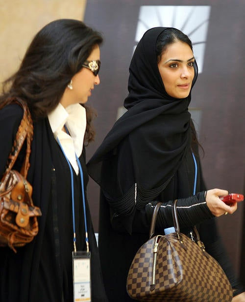 Saudi Arabian Women Integrate Workforce In Battle For Equality