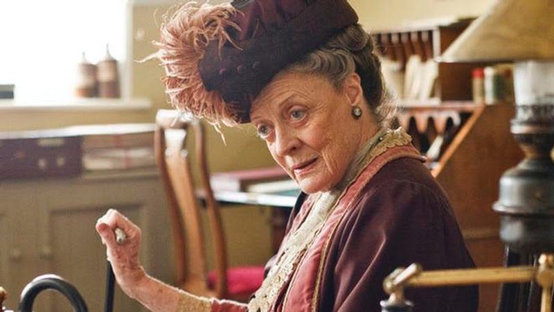 The Dowager Countess Has Never Seen an Episode of Downton Abbey