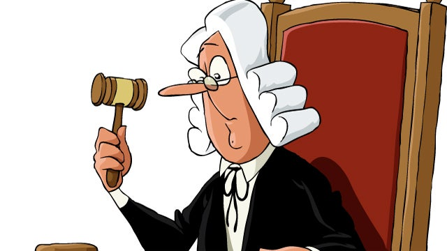 Someone Is Peeing in British Judges' Food