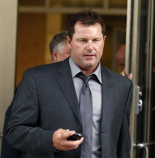 Roger Clemens Handed Out Some Souvenirs At His Trial