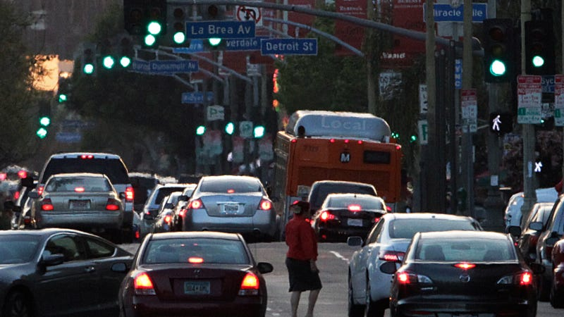 LAPD Cracks Down On Jaywalkers As More People Ditch Cars