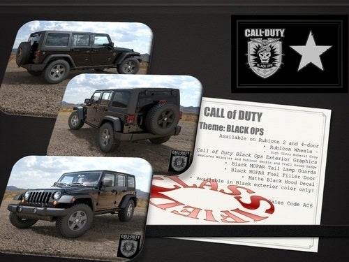 Here's Your Call Of Duty Jeep