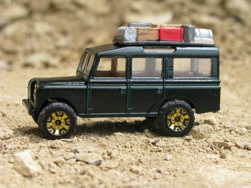 [CUSTOM] Matchbox Lesney Land Rover Safari Custom