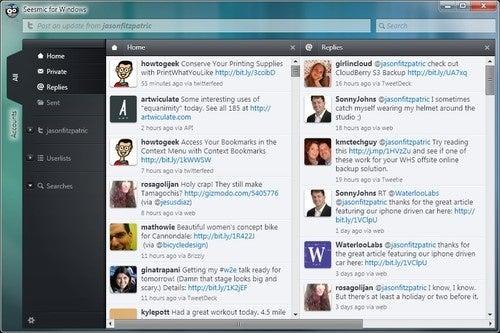 Seesmic Desktop Now Available as a Native Windows Client