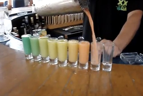 Rainbow Shots Turn Even More Rainbow In Your Stomach...Honest