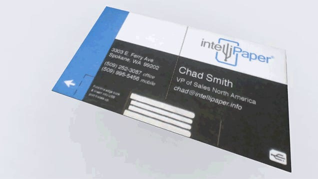 A Transforming USB Business Card That Shares More Than Just Your Name