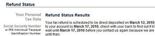 Check the Status of Your Federal Tax Refund Online