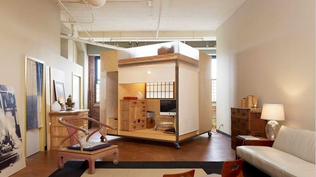 A Cube Inside a Loft Inside a Warehouse, for Feng Shui's Sake