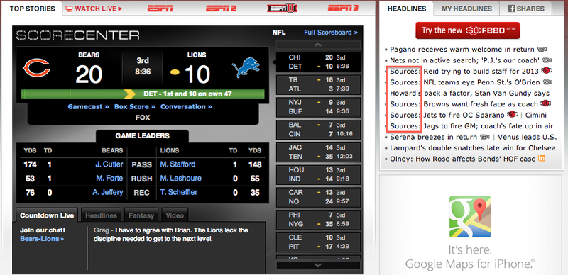 If There Is Anything Subtle About ESPN It's The Deception