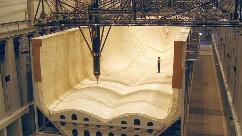 This Gigantor CNC Machine is Longer Than a Football Field