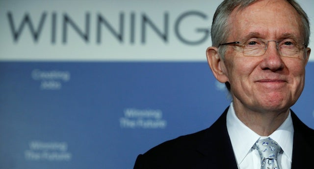 Harry Reid Wants To Outlaw Prostitution In Nevada